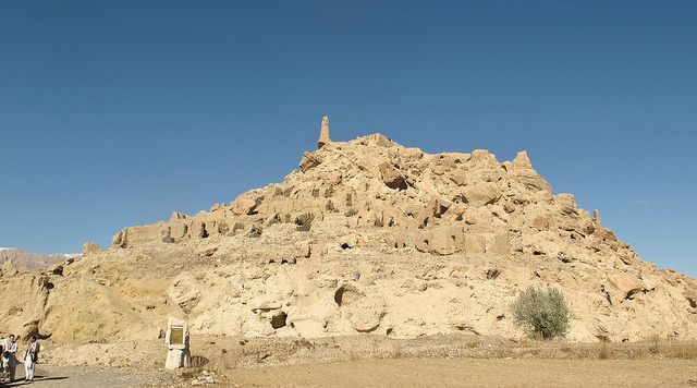 """""""the city of screams""""Shahr-e Gholghola, is definitely worth the short hike."""