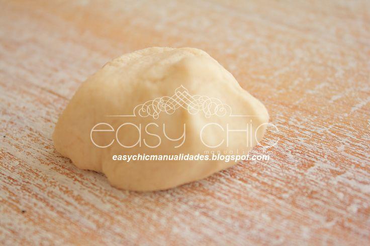 EasyChic: DIY: Como hacer pasta de sal y un marca páginas piernas que salen del cuento.