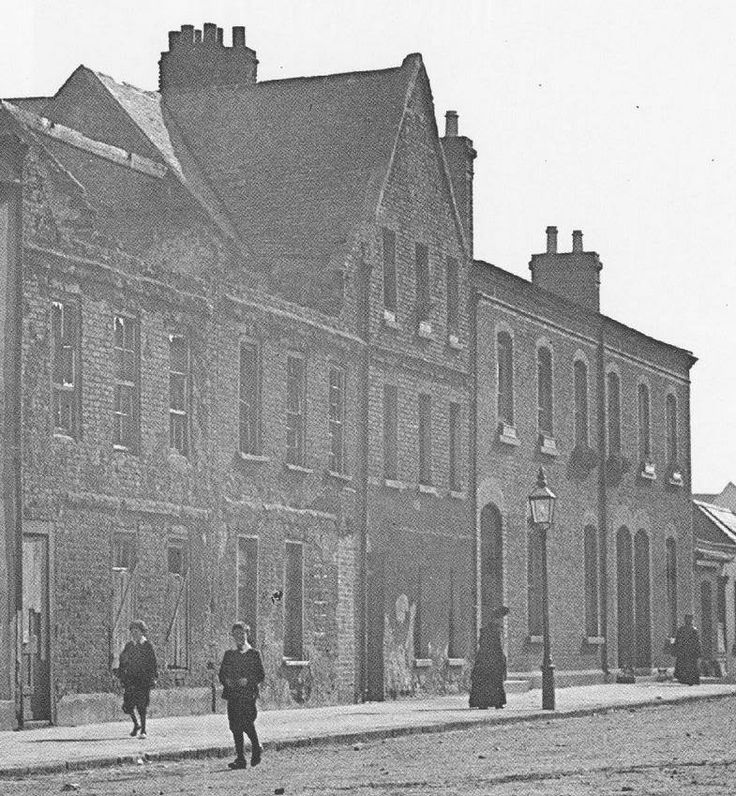 Weavers Square Dublin, year of photo proberly victorian.