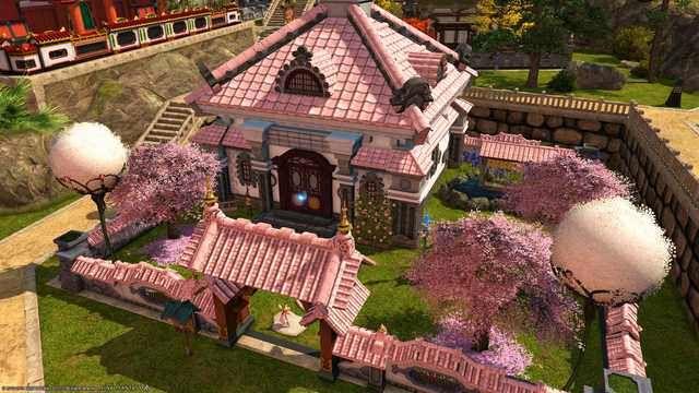 Venus Fiore S House Plot 20 17th Ward Shirogane Imgur Fantasy House Old Abandoned Houses Unusual Homes