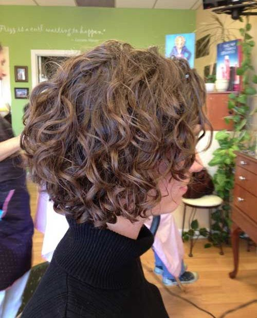 Miraculous 1000 Ideas About Curly Bob Hairstyles On Pinterest Curly Bob Hairstyles For Women Draintrainus