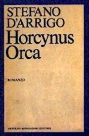"""L'azione di Horcynus Orca si svolge nei primi giorni dell'ottobre 1943, dopo l'armistizio tra il governo italiano e le forze Alleate. Il protagonista, 'Ndrja Cambrìa, marinaio della Regia Marina, tenta di tornare a casa, a Cariddi, attraversando lo Stretto di Messina: ritroverà un paese irriconoscibile, trasformato dalla guerra e sconvolto dall'apparizione in mare di una creatura mostruosa, l'""""Orcaferone"""" che dà titolo al romanzo, simbolo enigmatico della potenza ultraterrena della Morte"""