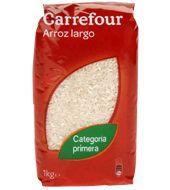 Carrefour arroz largo de 1kg.