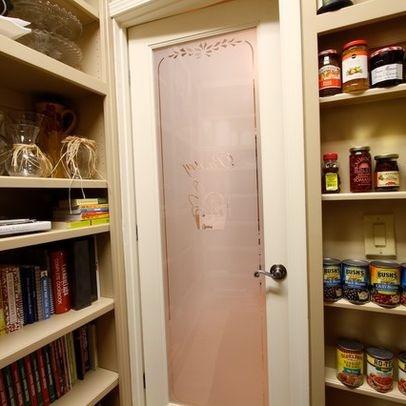 kuchenschranke glasfront : glass pantry door. Not this one but similar. Swinging both ways