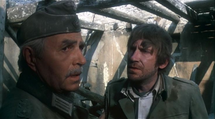 98 best images about cross of iron 1977 on pinterest for Burkhard heinrich