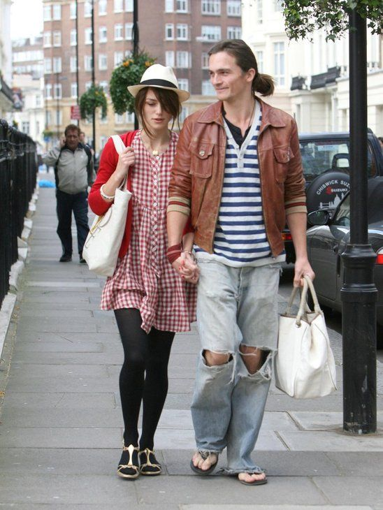 Both Keira and her boyfriend Rupert Friend have great style! What a stylish pair!