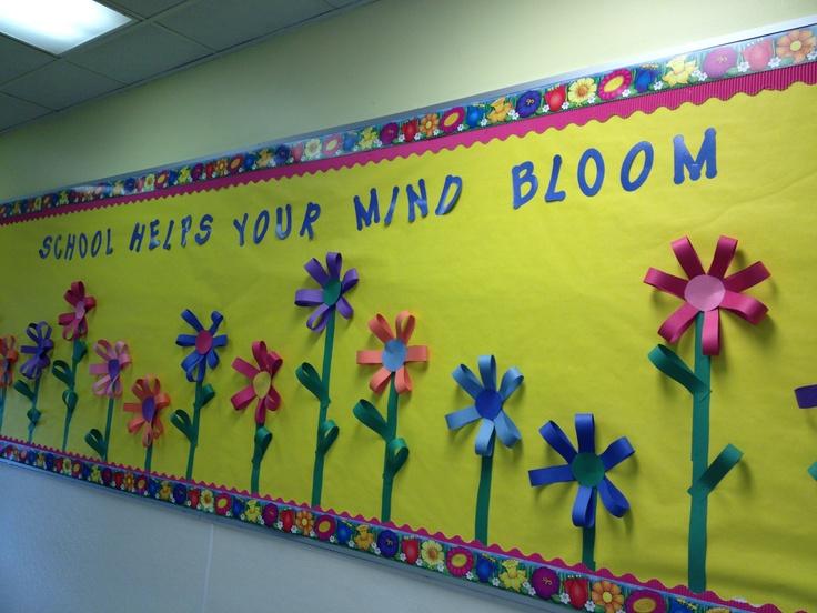 Bulletin board for my son's school.