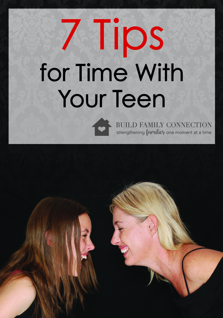 """Figuring out how to connect with teens in a meaningful way can take some experimenting.    As a mom, I often ask, """"Are my kids getting it?  Do they feel my love for them?  Am I communicating how much they matter to me?""""  Communicating love in a way that lands with a teen can be tricky...Read More »"""