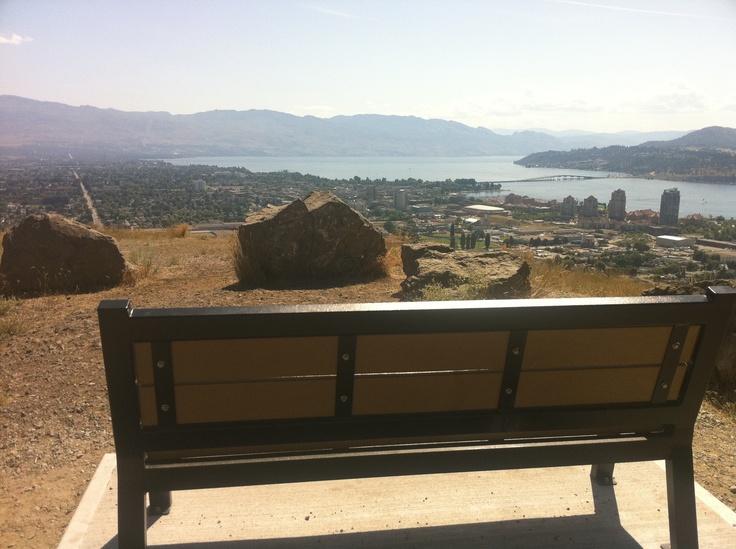 Knox Mountain Bench