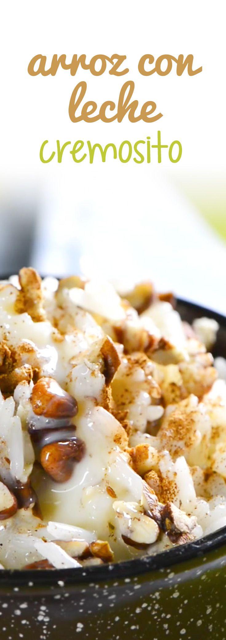 Te presentó una receta de arroz con leche super cremosito y delicioso, acuérdate…
