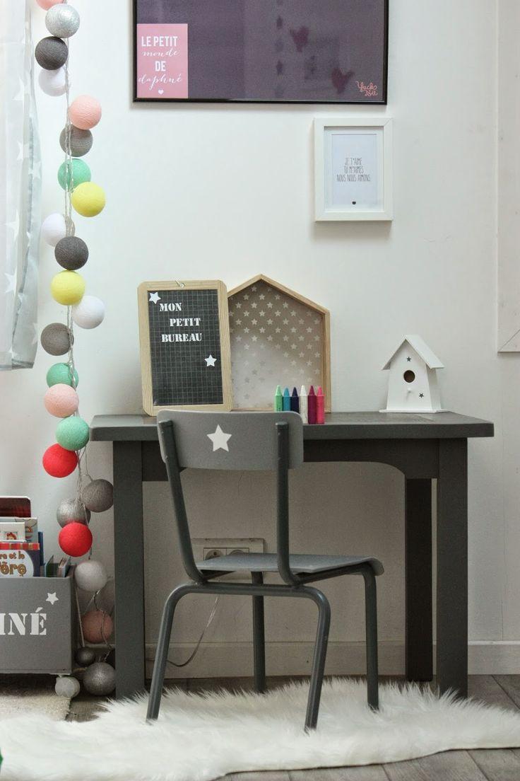 Un nouveau regard: Customisation d'un bureau pour enfant