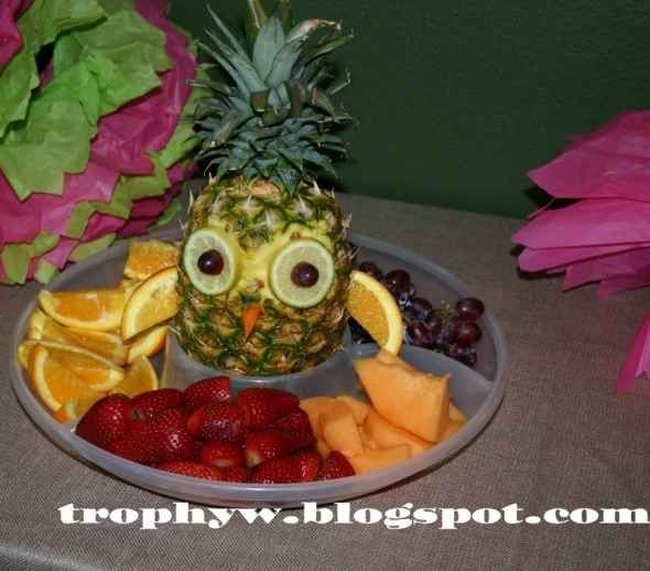 Owl Baby Shower better looking fruit. . .could do this for a friend's upcoming baby shower!!