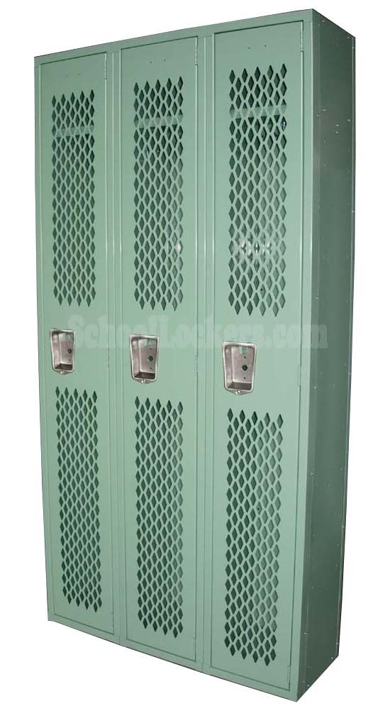 Discounted athletic lockers for sale! Popular for team locker rooms, gyms and rec centers but would also make a great addition to any sports-themed bedroom or man cave!