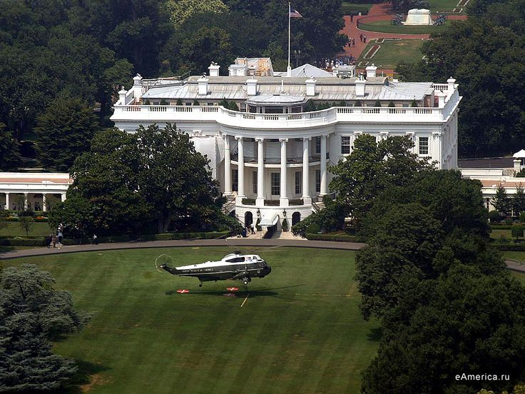 Marine One on the White House Lawn, Washington DC