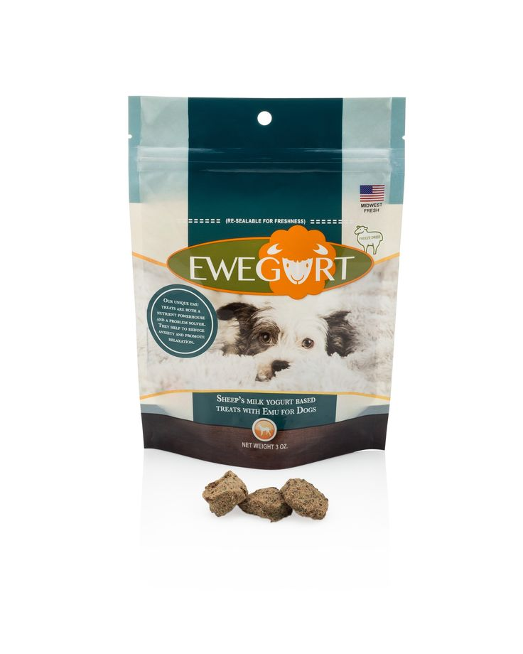 Organic functional freeze dried treats with emu it