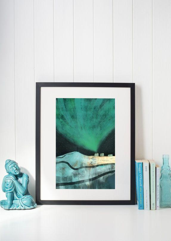 Nordlys A3 print