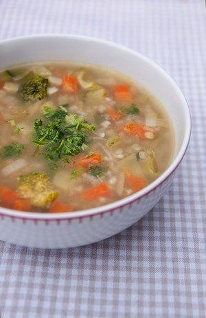 Pohankovo - zeleninová polévka