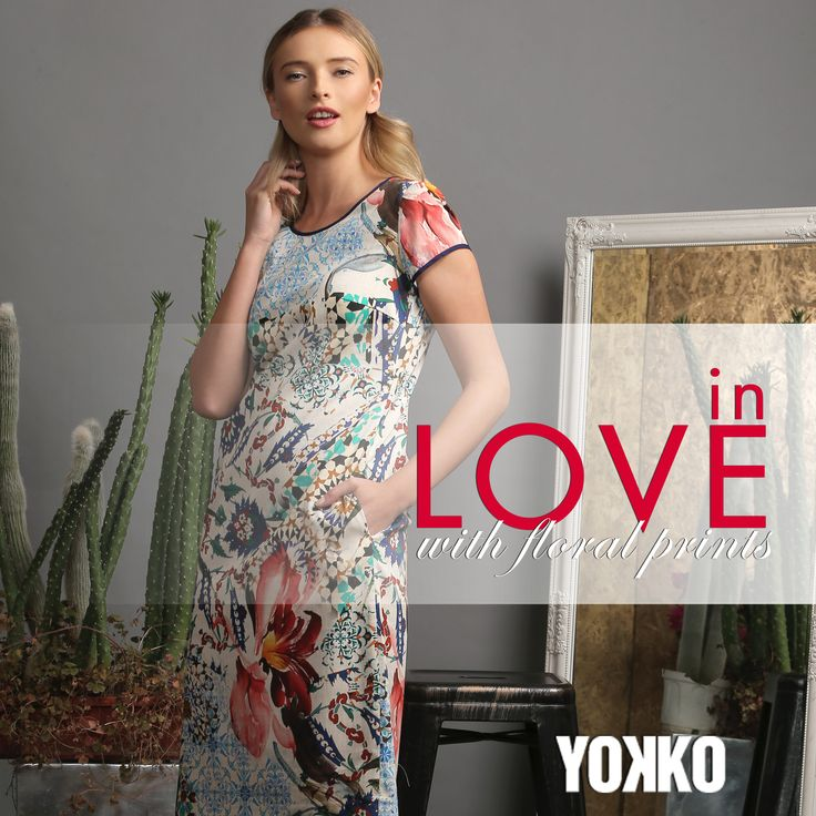 This SPRING fall in love with floral prints! #yokko #spring18 #madeinromania #floralprints