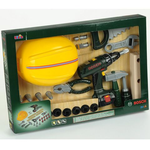 Bosch szerszámszett 27 tartozékkal - Klein Toys