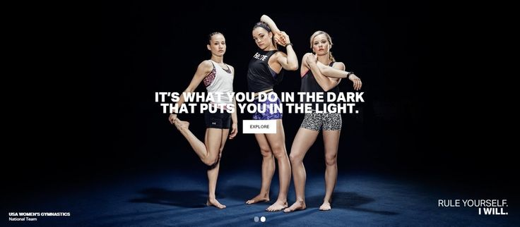 Rule yourself. (Madison Kocian, Maggie Nichols, MyKayla Skinner)