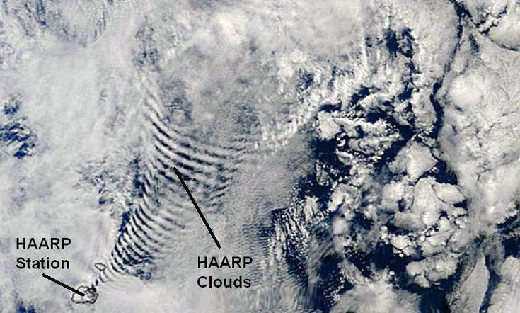 NASA Satellite Imagery Reveals Shocking Proof Of Climate Engineering -- HAARP Waves