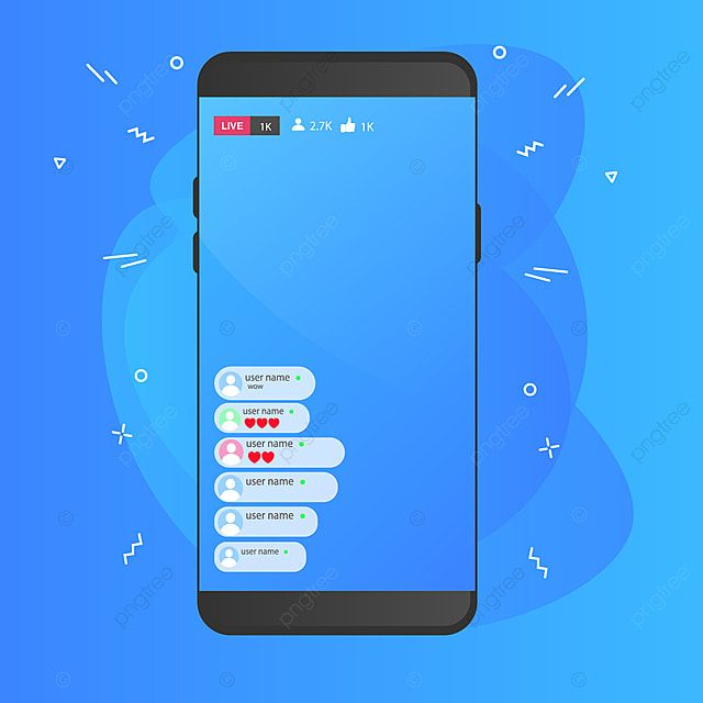Facebook Live Broadcast Page Story Follower Communication Png And Vector With Transparent Background For Free Download In 2021 Facebook Live App Frame Live Broadcast