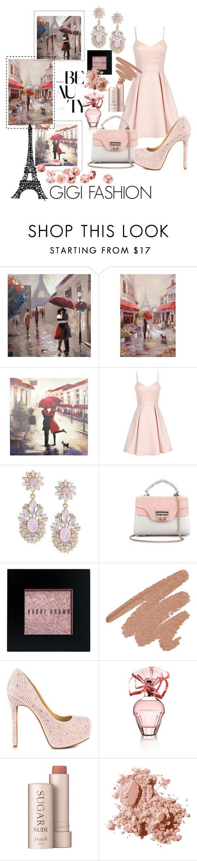 """Paris Pink"" by gigi-ramirez ❤ liked on Polyvore featuring Girls On Film, Carolee, Bobbi Brown Cosmetics, Jessica Simpson, BCBGMAXAZRIA, Fresh, love, paris, Elegant and springtrend"