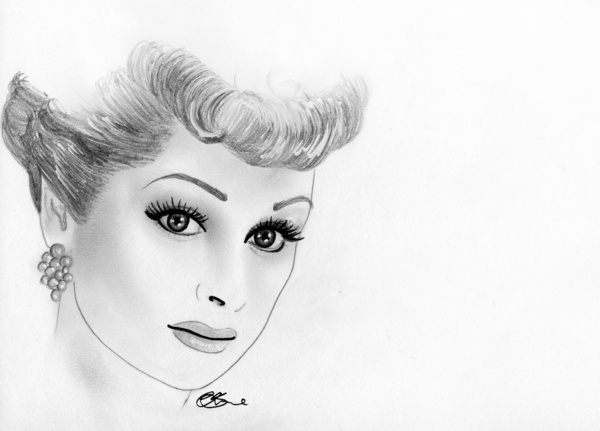 lucille ball coloring pages | 166 best Lucy Drawings / Paintings / Caricatures images on ...