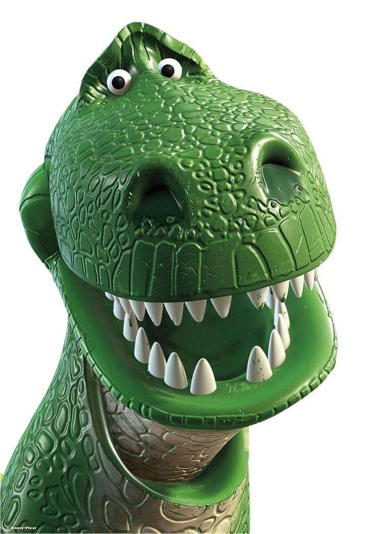 Rex el dinosaurio  Toy story para imprimir