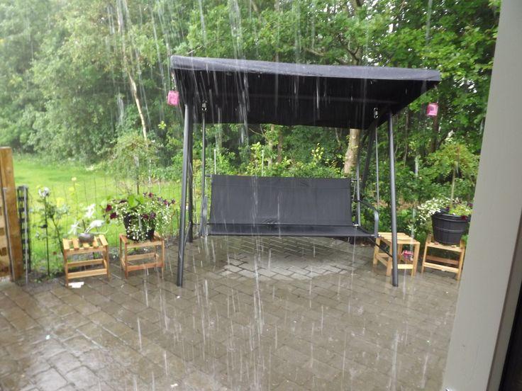 A wet summerday in Billund