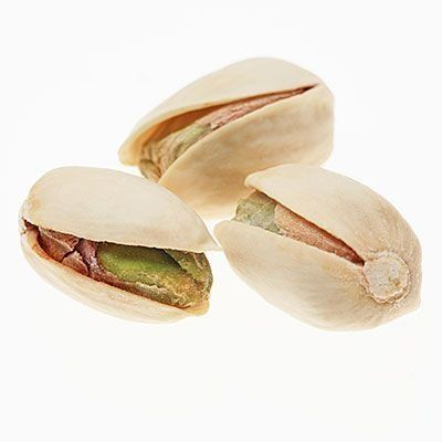 Pistachios contain as much potassium as a banana and are packed with lutein, an antioxidant that benefits your eyes and skin. | Trying to lose weight? Incorporate these healthy weight loss foods into your diet to burn more calories and shed pounds. | Health.com