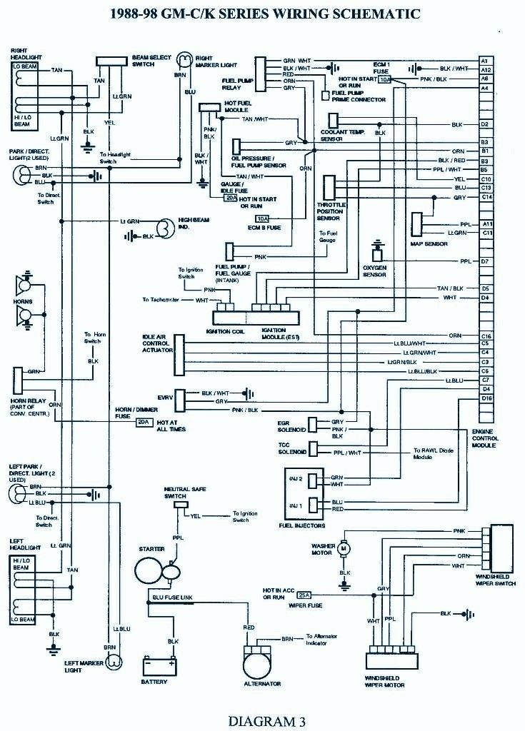 Pin By Michael Hathaway On Chevy Tahoe Obs 1995 2000 Electrical Diagram Chevy 1500 Electrical Wiring Diagram