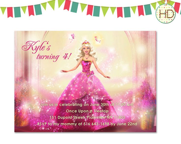 141 best kids birthday invitations images on pinterest birthday a personal favorite from my etsy shop httpsetsy barbie invitationsbirthday invitationsbarbie birthday partyetsy shop filmwisefo Choice Image