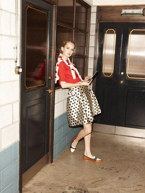 コケティッシュなムード漂うポルカドットコーデの参考にしたいスタイル・ファッションアイデアまとめ♡
