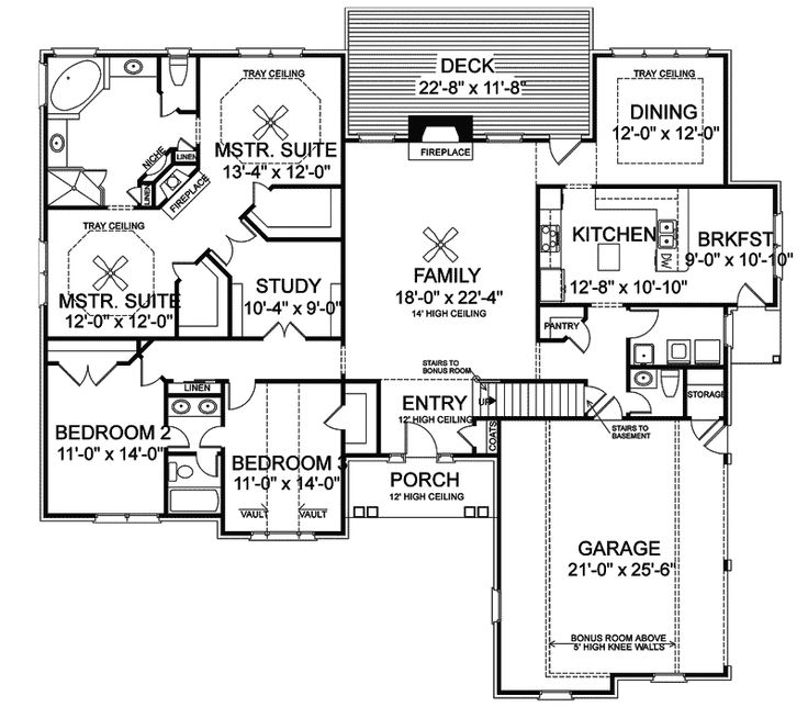 Stovall Park Brick Ranch Home Ranch Homes House Plans