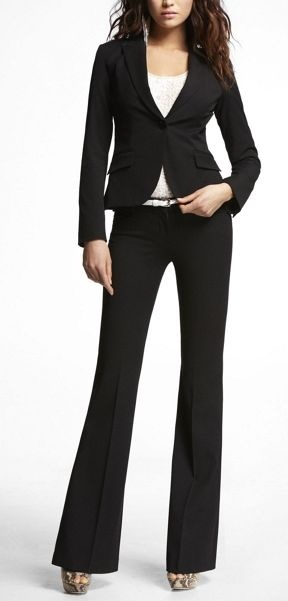 Best 20+ Black pant suit ideas on Pinterest | Pant suits, Women ...
