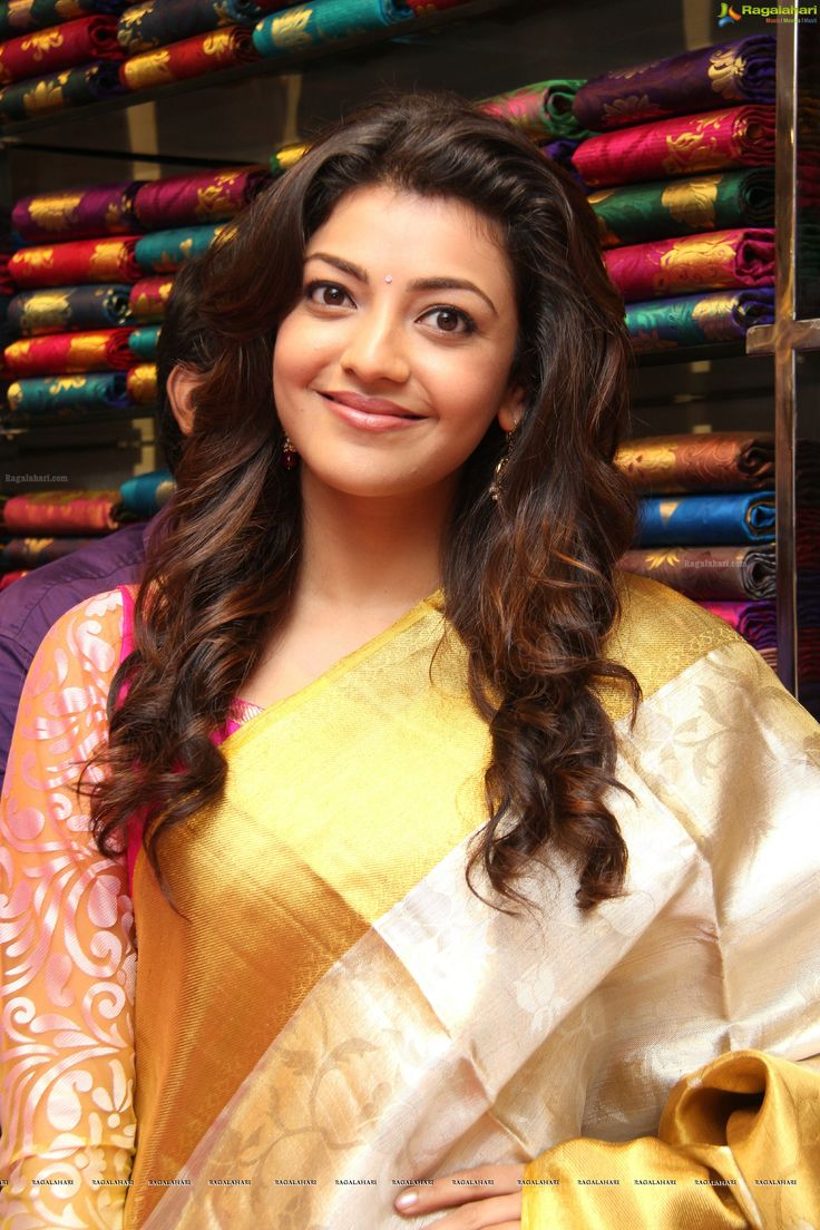 Kajal Agarwal in Silk Saree