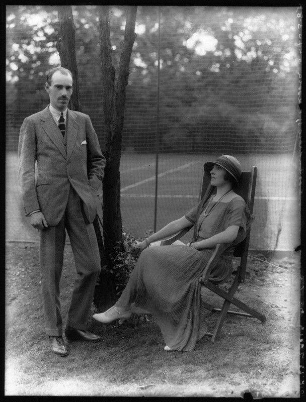 Князь Андрей Александрович Романов с женой Елизаветой Фабрициевной