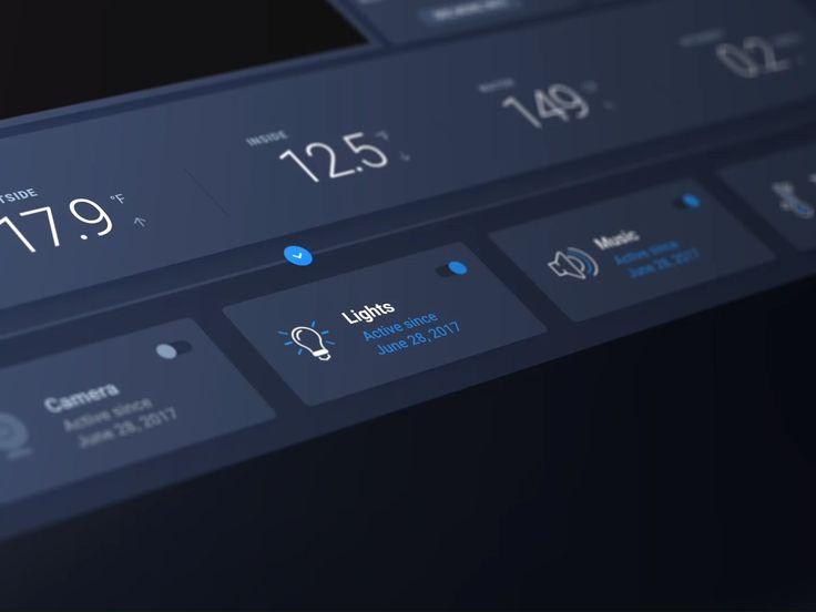 Smart Home— A digital UI Kit