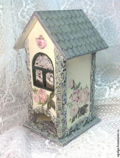 Кухня ручной работы. Ярмарка Мастеров - ручная работа Чайный домик с розами. Handmade.