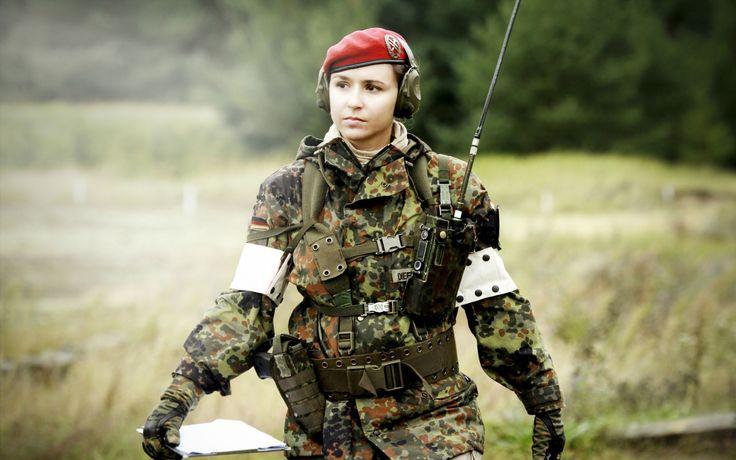 Female German Medic