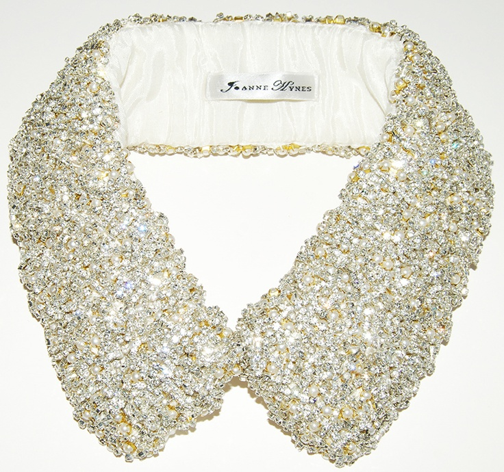 #JOANNEHYNES SCARLETTE #CRYSTALCOLLAR  €260  SHOP:http://www.joannehynes.com/shop/collars/scarlette-collar-made-to-order/