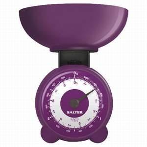 Purple Kitchen Scale | Everything Purple / Salter Kitchen Scale In Purple