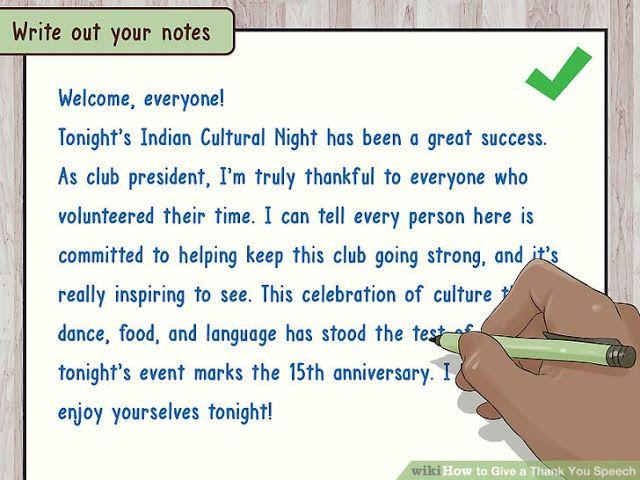 thanks giving speech to seniors