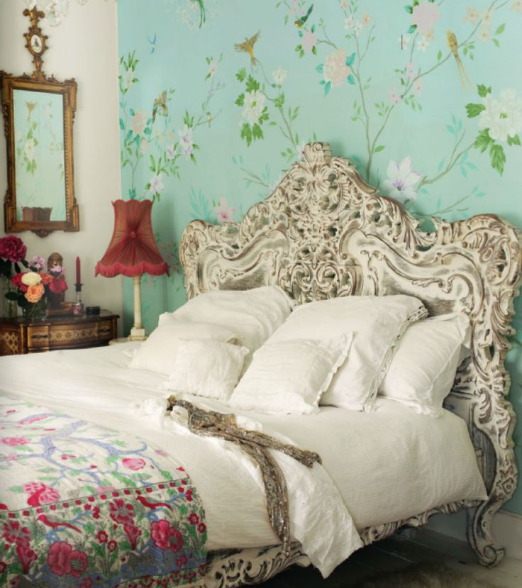 Shabby Chic Vintage Bedrooms: Romantic-shabby-chic-bedroom
