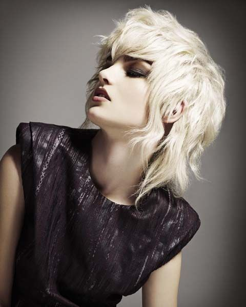 Hair: Jamie Benny @ Rush Hair Photo: Ram Shergill Make up: Adam Burrell Styling: M.N.K.