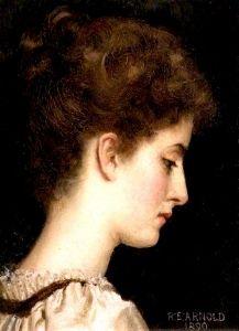 Study of a Girl's Head - Reginald Ernest Arnold - The Athenaeum