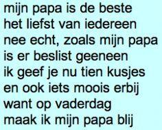 gedichtje vaderdag - Google Search