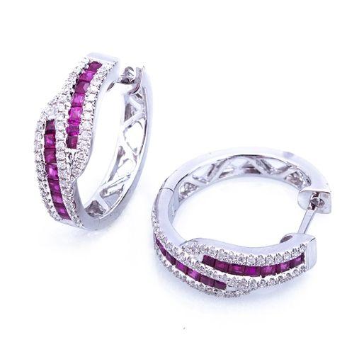 http://www.coriolan.ro/bijuterii/rubine/cercei-cu-rubine-si-diamante-c191.html C191 #bijuterii #coriolan #cercei #earings
