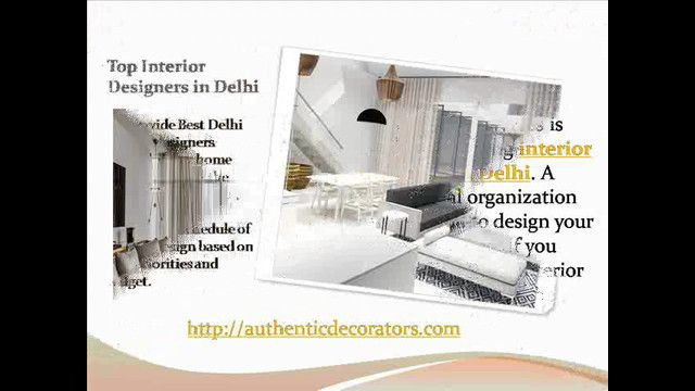 Authentic Decorators is one of the leading interior designers in Delhi. A professional organization can help you to design your home and office. If you want to Top Delhi Interior Designer company, then our organization best destination for you. Visit http://authenticdecorators.com